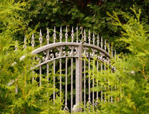 Smeedijzeren poorten – een goede keuze