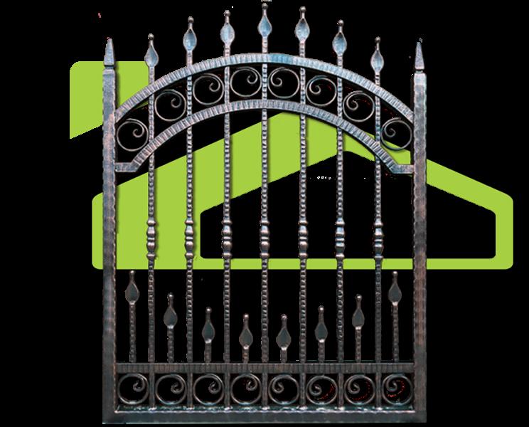 Wrought iron fences PF 001