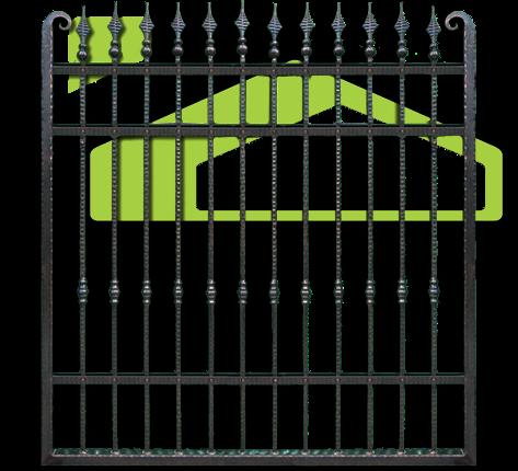 Smeedijzeren poorten en hekken