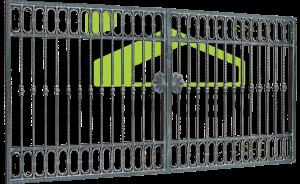 Wrought iron gates PF 005