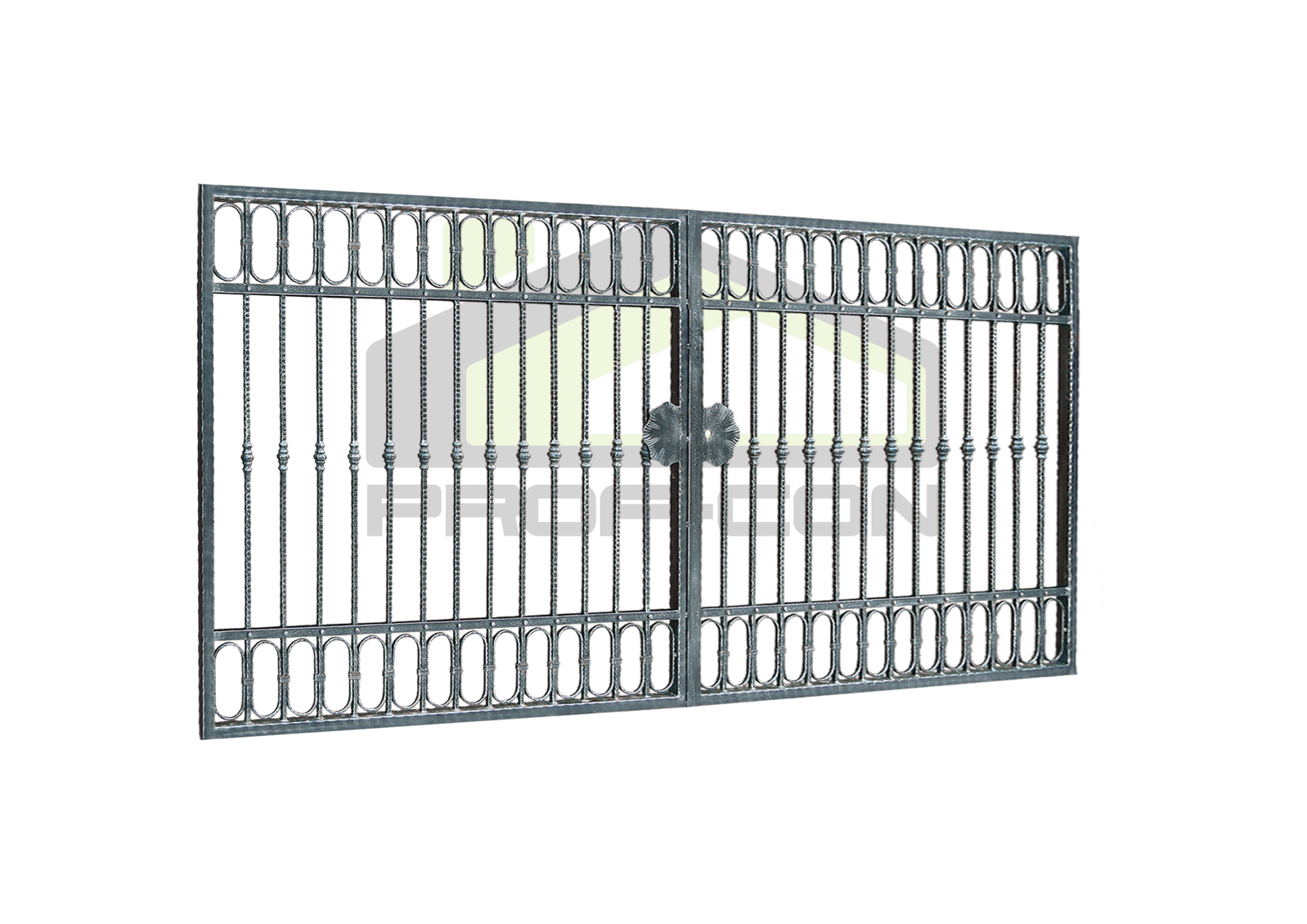 Wrought iron gates and fences PF 005