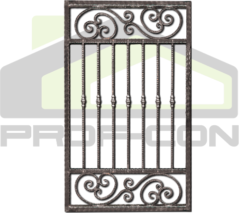 Wrought iron gates and fences