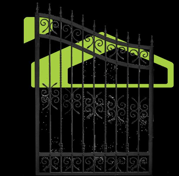 Wrought iron fences PF 007