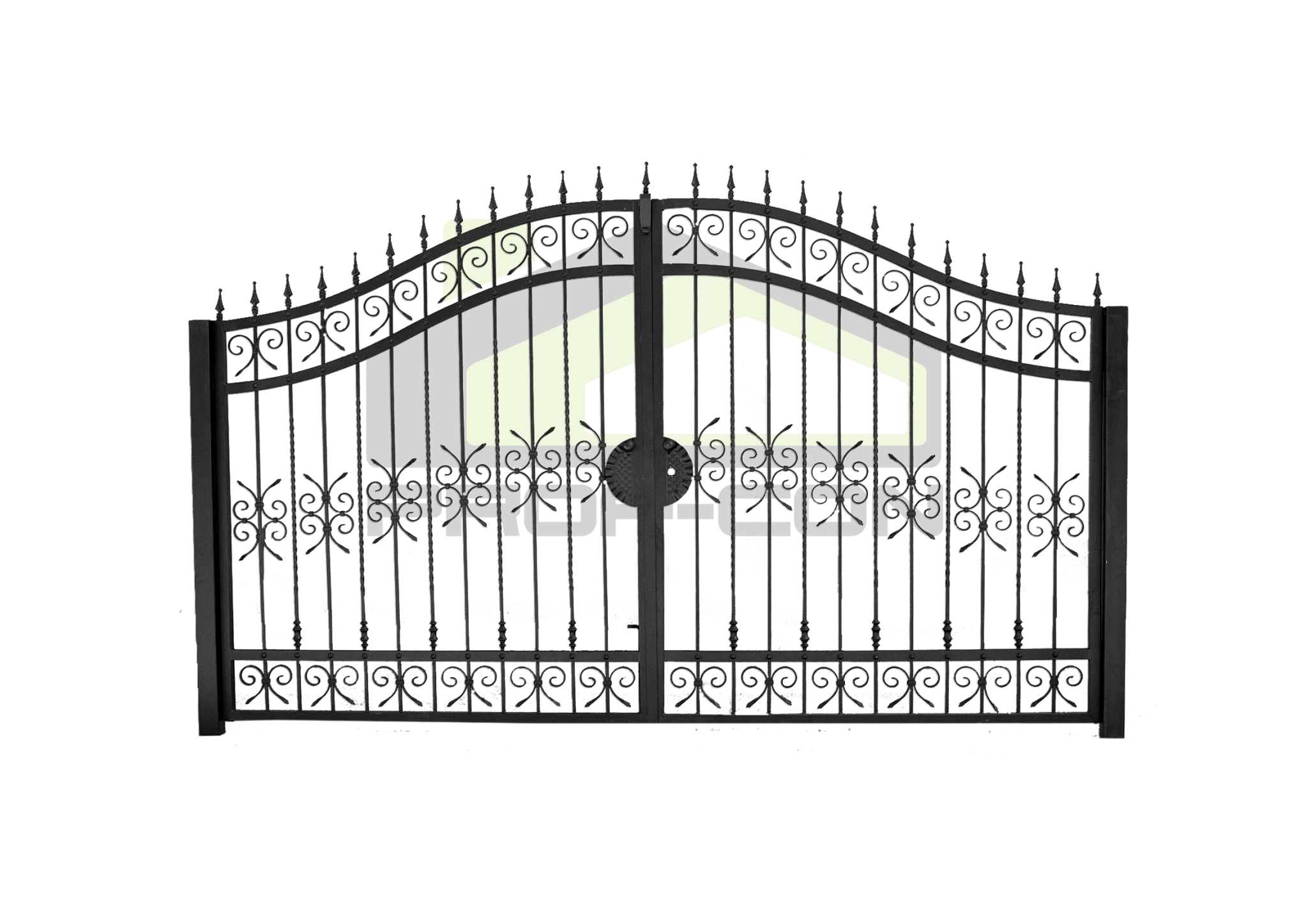 Wrought iron gates and fences PF 007