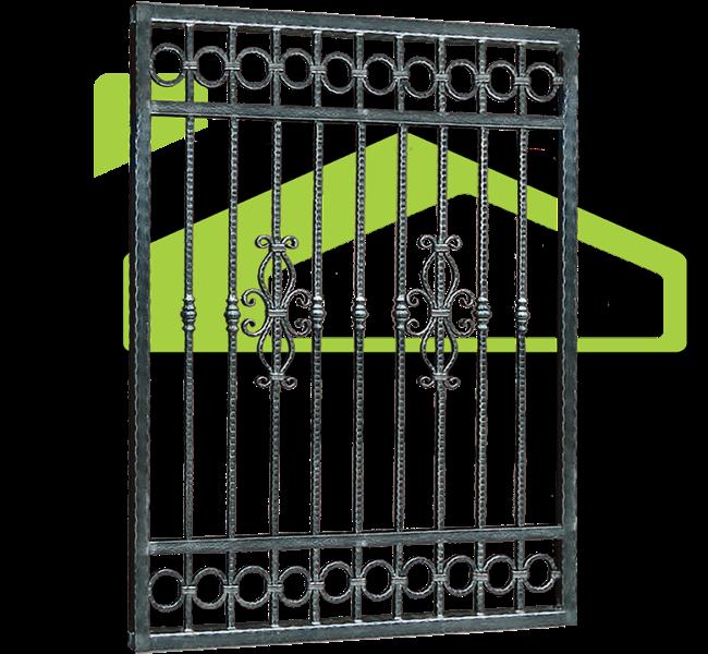 Wrought iron fences PF 008