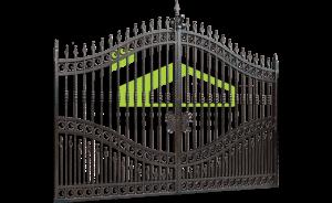 Wrought iron gate PF 001