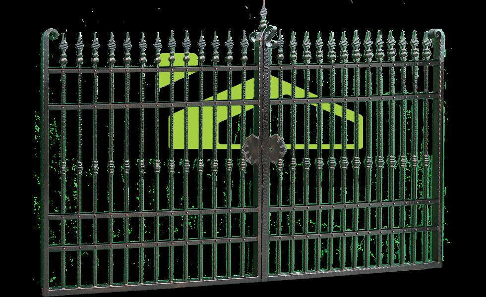 Smeedijzer poort PF 004