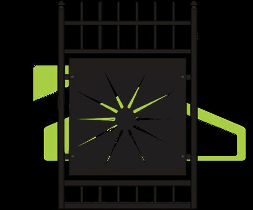 Portes et clôtures modernes