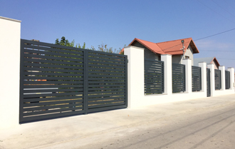 high-tech gates and fences